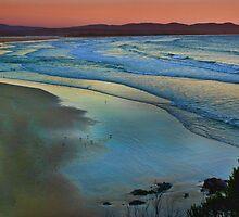 Malacoota Evening by Dianne English