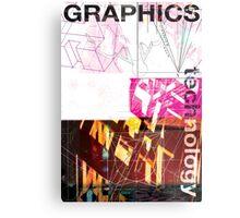 Graphics & Technology Metal Print