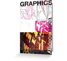 Graphics & Technology Greeting Card