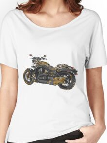 Steampunk Motorcycle Women's Relaxed Fit T-Shirt