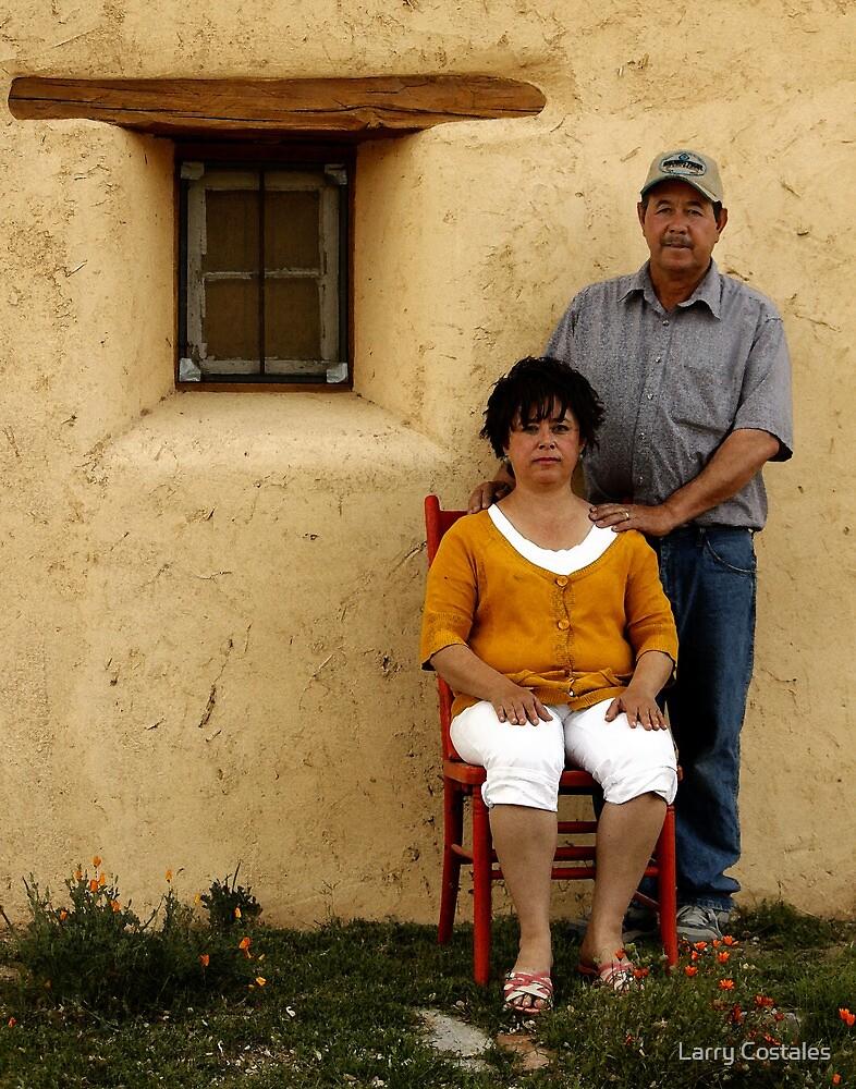 El Plastor Y Esposa by Larry Costales