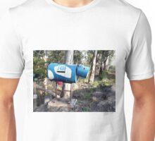 Blue Cow letterbox Unisex T-Shirt
