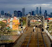 Melbourne from The West by carmelr
