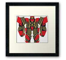 Triangleye: Robot 07 Framed Print