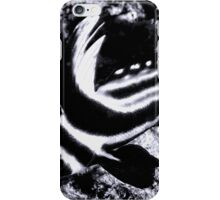 Black and White Spotted Drum Fish iPhone Case/Skin