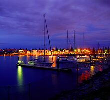 Boats docked Largs North by ANGRE
