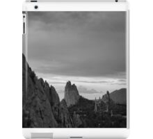 Red Rocks in Black and White iPad Case/Skin