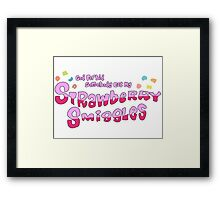 Rick and Morty // Strawberry Smiggles Framed Print