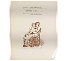 Rhymes for the Young Folk William and Hellen Allingham art Kate Greenaway 0043 Wishing Poster