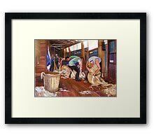 The Tarcombe Clip Framed Print