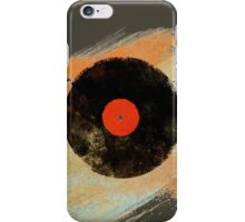 Vinyl Record Retro T-Shirt - Vinyl Records Modern Grunge Design iPhone Case/Skin