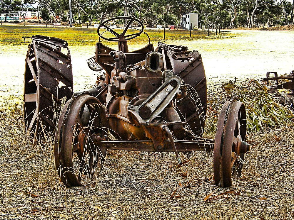 Bring on the plow.. by Elaine Game