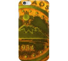 Town of Taos New Mexico 1934 Emblem iPhone Case/Skin