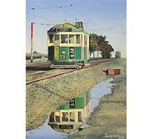 W2 Tram to Essendon Photographic Print