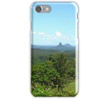 Glasshouse mountains (2) iPhone Case/Skin