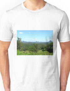 Glasshouse mountains (2) Unisex T-Shirt