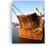 Rusty rear Canvas Print
