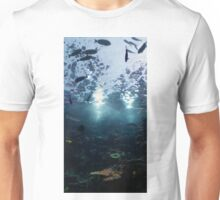 Underwater view from below Unisex T-Shirt