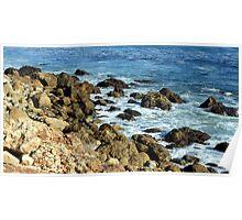 California Coastline 0470 Poster