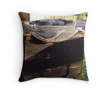Eel box Throw Pillow