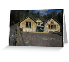 Christchurch School, Chalford, Stroud, Gloucestershire Greeting Card