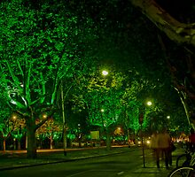 Melbourne City at Midnight by Tom Newman