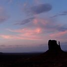Sunset ~ Monument Valley by Patty Boyte