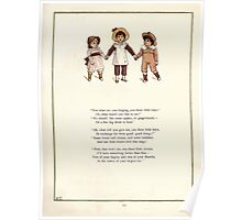 Under the Window Pictures and Rhymes for Children Edmund Evans and Kate Greenaway 1878 0047 Three Little Boys Poster