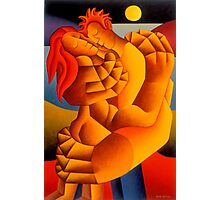 The Lovers By Moonlight Photographic Print