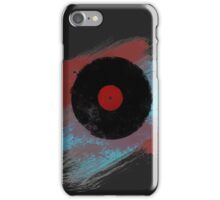 Vinyl Record - Modern Vinyl Records Grunge Design - Tshirt and more iPhone Case/Skin