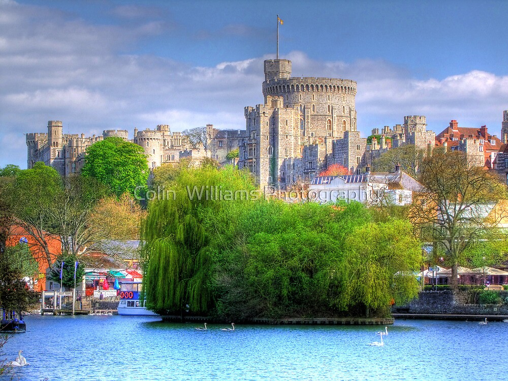 Windsor Castle and the River Thames - HDR by Colin  Williams Photography