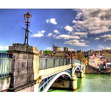 Old Windsor Bridge - HDR Photographic Print