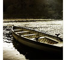 Tay Fishing Boat Photographic Print