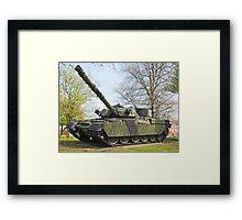Cheftain Tank Framed Print