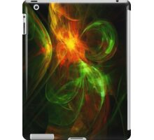 Alien Code 3 Orange-Red Green iPad Case/Skin