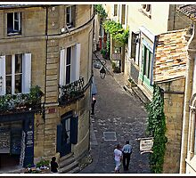 """ The narrow streets of St Emillion"" by mrcoradour"