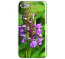 Pyramidal Orchid....Lyme, Dorset UK iPhone Case/Skin
