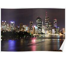 Brisbane City. Poster