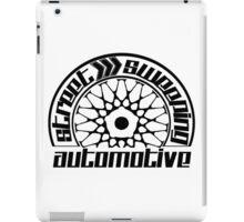 Street Sweeping Automotive Logo iPad Case/Skin