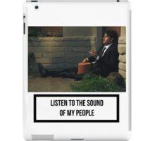 Sound of my boose iPad Case/Skin