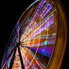 The Wheel close up by Ian Stevenson