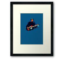 Live Guitarist Session (1) Framed Print