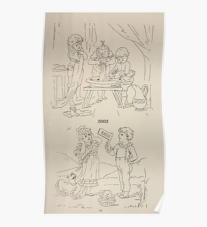 Briggs & Company Patent Transferring Papers Kate Greenaway 1886 0229 Poster