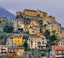 Corsica - Corte by a winter morning by Patrick Morand