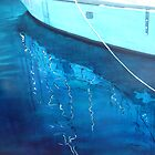 Yacht Reflected II - oil on canvas - 2010 by ChristineBetts