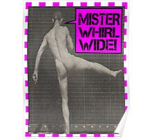 Mister Whirl-Wide  Poster