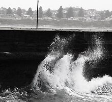 Break Water at Warrnambool by Lauren Grenfell
