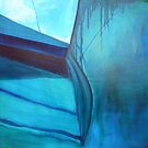 Yacht Reflected - oil on canvas 2010 by ChristineBetts