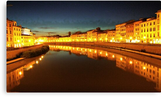 """A DIFFERENT LOOK ON PISA by Antonello Incagnone """"incant"""""""