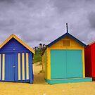 Brighton Beach Houses by Thomas Anderson